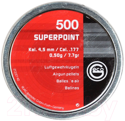 Пульки для пневматики Geco Superpoint