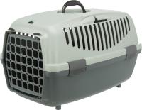 Переноска для животных Trixie Be Eco Capri 1 / 39805 (антрацит/серый/зеленый) -