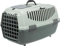 Переноска для животных Trixie Be Eco Capri 2 / 39806 (антрацит/серый/зеленый) -