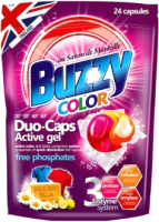 Капсулы для стирки Buzzy Duo Caps Color (24x18г) -