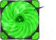Кулер для корпуса GENESIS Hydrion 120 Green Led (NGF-1168) -