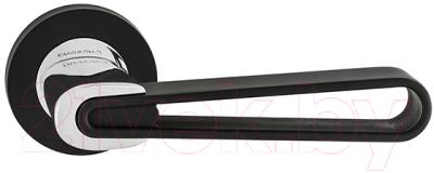 Ручка дверная Oro & Oro Margherita 067-16E Black/CP