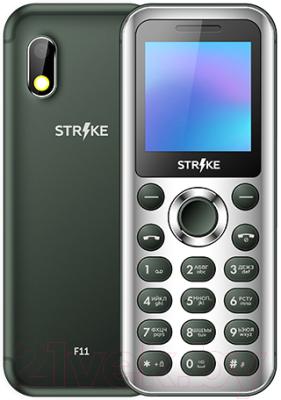 Мобильный телефон Strike F11 (зеленый)