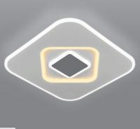 Потолочный светильник Евросвет Just 90218/1 (белый/серый) -