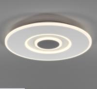 Потолочный светильник Евросвет Just 90219/1 (белый/серый) -