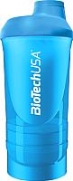 Шейкер спортивный BioTechUSA Wave I00002650 (синий) -