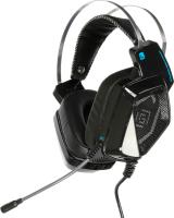 Наушники-гарнитура Oklick Alien HS-L800G (черный) -