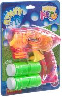 Набор мыльных пузырей Bondibon Наше Лето. Пистолет для мыльных пузырей / ВВ4377 -
