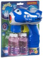 Набор мыльных пузырей Bondibon Наше Лето. Пистолет для мыльных пузырей / ВВ4378 -