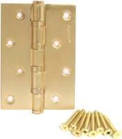 Петля дверная Avers Универсальная 100x70x2.5-B4 (матовое золото) -