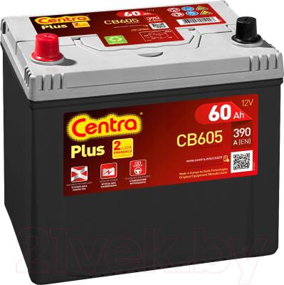 Автомобильный аккумулятор Centra Plus L+ / CB605