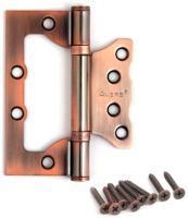 Петля дверная Avers Универсальная 100x75x2.5-B2 (медь) -