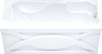 Ванна акриловая Triton Диана 170x75 (с каркасом, сифоном и 2 экрана) -