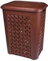 Корзина для белья Эльфпласт Виола EP205 (50л, коричневый) -