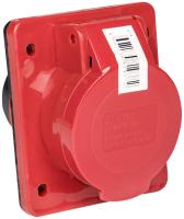 Розетка кабельная EKF PROxima 414 3Р+РЕ 16А 380В IP44 / PS-414-16-380 -