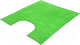Коврик для туалета VORTEX Spa / 24133 (60x55, зеленый) -
