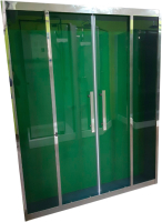 Душевая дверь Coliseum 2002-120(190) (тонированное стекло) -