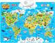 Развивающий плакат Zabiaka Животные мира / 3524466 -