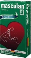 Презервативы Masculan Classic-4 XXL №10 -