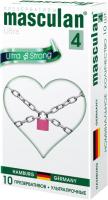 Презервативы Masculan Ultra-4 ультра-прочный №10 -