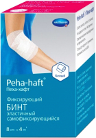 Бинт медицинский Peha-haft Белый 8x400 -