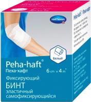 Бинт медицинский Peha-haft Белый 6x400 -