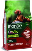 Корм для собак Monge Bwild Grain Free Lamb (2.5кг) -