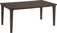 Стол садовый Keter Futura / 206977 (коричневый) -