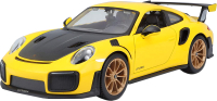 Масштабная модель автомобиля Maisto Порше 911 GT2 RS / 31523 -