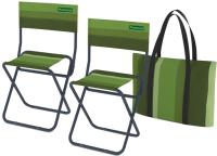 Комплект складной мебели Zagorod N 202 (зеленый) -