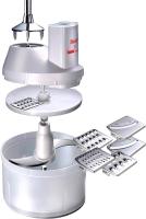 Комплект насадок для блендера Bamix SliceSy Light (Grey) -