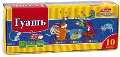 Гуашь Hatber Прикольные коты / KKs-10280