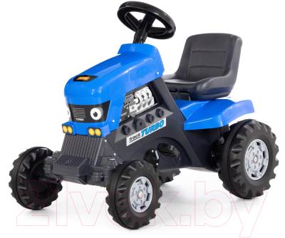 Каталка детская Полесье Turbo Трактор / 84620