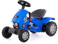 Каталка детская Полесье Turbo-2 Трактор / 84644 (синий) -