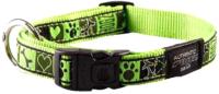 Ошейник Rogz Armed Response Halsband Lime Juice / RHB02CF -