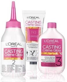 Крем-краска для волос L'Oreal Paris Casting Creme Gloss 4102 (холодный каштан)