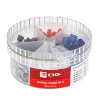 Набор наконечников для кабеля EKF PROxima Nabor-nshvi-2 -