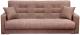 Диван Экомебель Лондон-2 рогожка 2 подушки 120 (коричневый) -