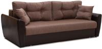 Диван Экомебель Амстердам 150 (коричневый) -