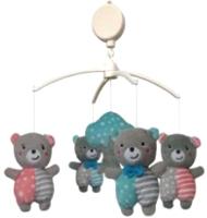 Мобиль на кроватку Baby Mix TK/496М (медвежата) -