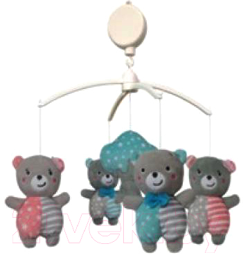 Мобиль на кроватку Baby Mix TK/496М (медвежата)