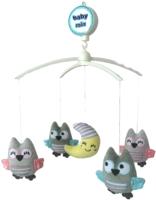 Мобиль на кроватку Baby Mix TK/497М (совы и луна) -