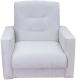 Кресло мягкое Экомебель Лондон-2 рогожка (бежевый) -