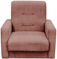 Кресло мягкое Экомебель Лондон-2 рогожка (коричневый) -