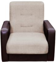 Кресло мягкое Экомебель Лондон рогожка (бежевый) -