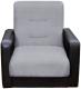 Кресло мягкое Экомебель Лондон рогожка (серый) -