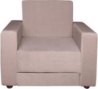 Кресло-кровать Экомебель Атлантида вельвет 205 (бежевый) -