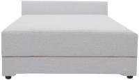 Полуторная кровать Экомебель Атлантида 120x200 рогожка (серый) -