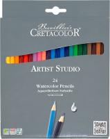 Набор акварельных карандашей Cretacolor Cleos Artist Studio Line (24цв) -