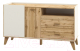 Тумба Мебель-Неман Сканди МН-036-01 (дуб вотан/белый) -